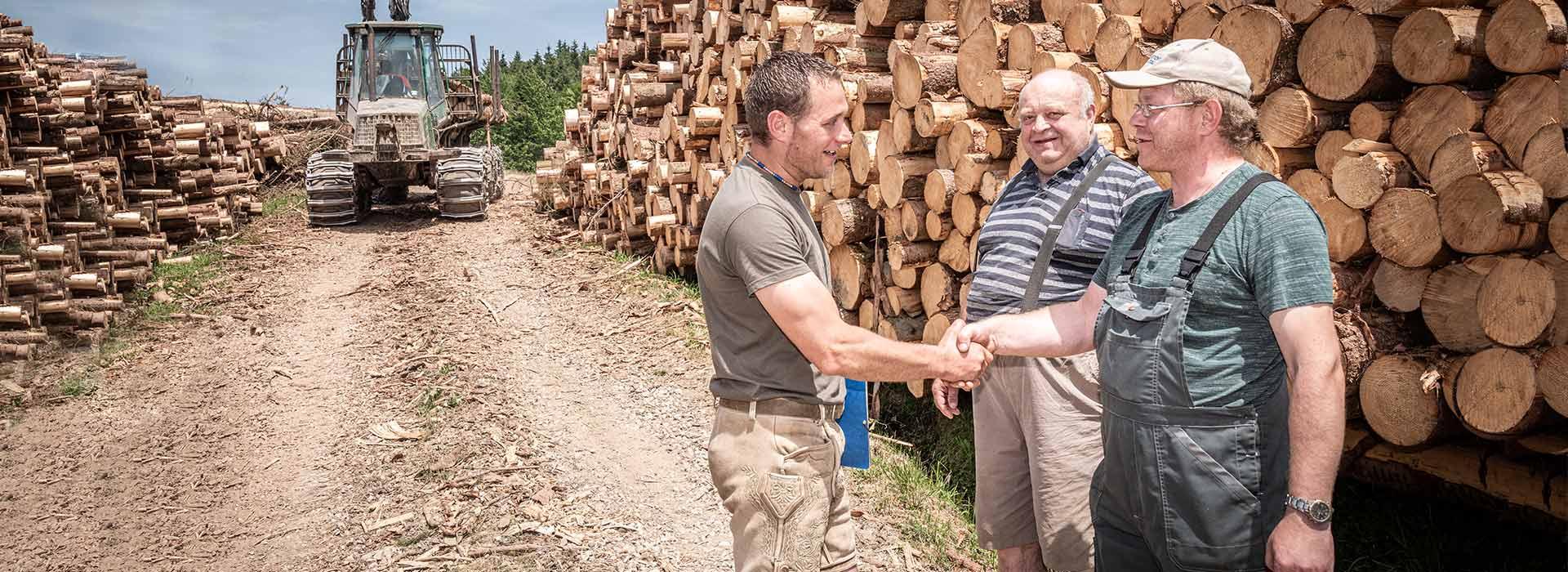 Holzhandel Glück GmbH Forstservice in Salzburg - Holz kaufen in Salzburg - Verkauf von Holz